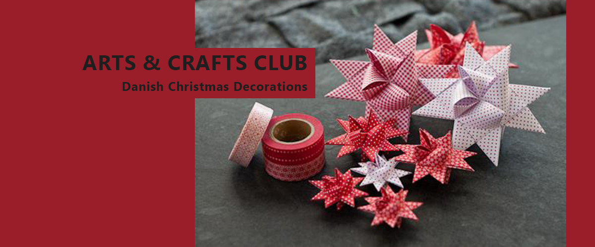 Arts crafts club danish christmas decorations for Arts and crafts christmas decoration ideas
