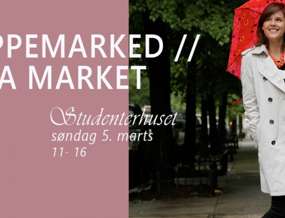 Loppemarked Cover marts